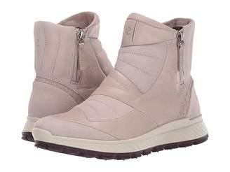 Ecco Sport Sport Exostrike Hydromax(r) Primaloft Zip Boot (Grey Rose/Grey Rose) Women's Boots