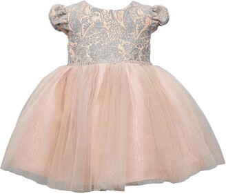 Iris & Ivy Kids' Jacquard Ballerina Dress
