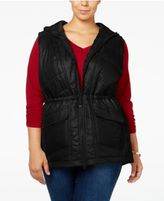 Style&Co. Style & Co Plus Size Hooded Puffer Vest, Only at Macy's