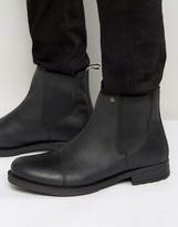 Jack & Jones Simon Leather Chelsea Boots