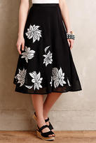 Tracy Reese Contrabloom Petite Skirt