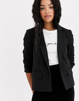 Miss Selfridge blazer in black
