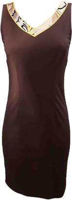 Leonard Brown Viscose Dresses