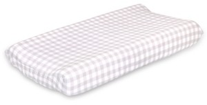 The Peanut Shell The Farmhouse Check Changing Pad Cover Bedding