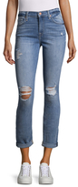 7 For All Mankind Josefina Destroy Squiggle Jeans