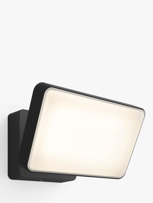 Philips Hue White and Colour Ambiance Discover LED Outdoor Floodlight, Black
