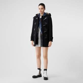 Burberry Wool Cashmere Blend Duffle Coat
