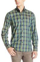 Stone Rose Men's Tonal Check Long-Sleeve Shirt