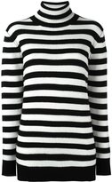 Saint Laurent striped roll neck sweater