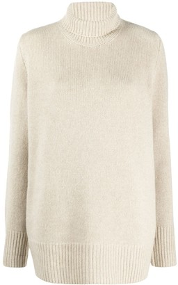 The Row Roll Neck Cashmere Jumper