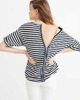 Abercrombie & Fitch Back-Zip Boxy Top