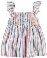 Carter's Girls 4-8 Striped Smocked Top