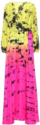 Anna Kosturova Exclusive to Mytheresa Printed silk maxi dress