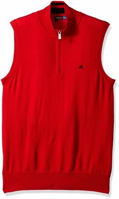 J. Lindeberg Men's Merino Wool Vest