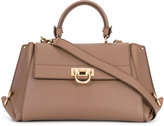 Salvatore Ferragamo satchel with shoulder strap - women - Leather - One Size