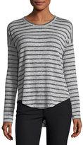 Rag & Bone Hudson Crewneck Long-Sleeve Striped Top