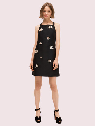 Kate Spade Floral Party Embellished Dress