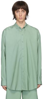 Sies Marjan Green Reflective Anderson Shirt