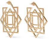 Noir Gold-Tone Earrings