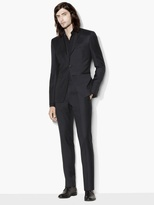 John Varvatos Austin Mini Check Suit