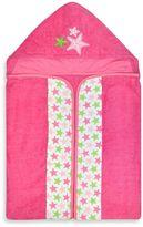 Just Born Sea Brights Starfish Bath Wrap in Pink