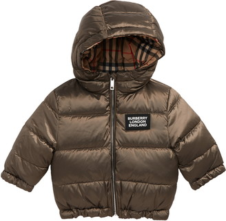 Burberry Rayan Reversible Hooded Down Puffer Jacket