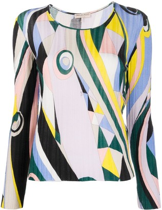 Emilio Pucci Abstract Intarsia Jumper