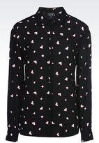 Armani Jeans Heart Print Shirt