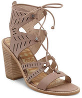 Dolce Vita Luci Leather Ghillie Lace Sandals
