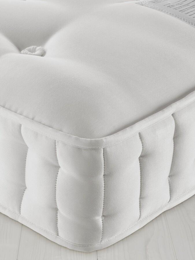 John Lewis & Partners Natural Collection Fleece Wool 8400, King Size, Firm Tension Pocket Spring Mattress