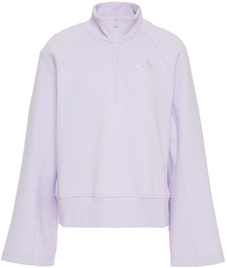adidas Cotton-blend Jersey Sweatshirt
