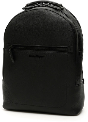 Salvatore Ferragamo Leather Firenze Backpack