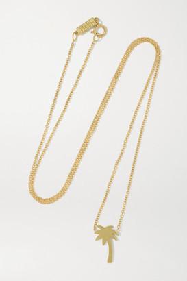 Jennifer Meyer Mini Palm Tree 18-karat Gold Necklace - one size