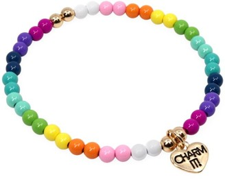 CHARM IT! Neon Stretch Bead Bracelet