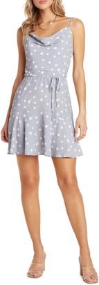 Willow Freddie Cowl Neck Minidress