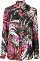 Fausto Puglisi Palms print shirt - women - Silk - 40