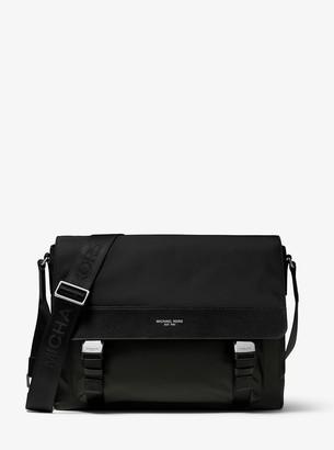 Michael Kors Brooklyn Gabardine Nylon Messenger Bag