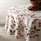 "Crate & Barrel Amelia 90"" Floral Round Tablecloth"