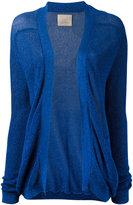 Laneus glitter thread cardigan - women - Polyamide/Polyester/Viscose - 40