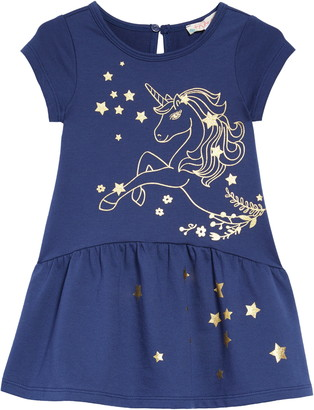 Truly Me Foil Unicorn Dress