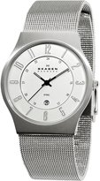 Skagen Men's C233XLSSC Steel Dial Mesh Bracelet Watch