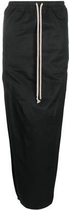 Rick Owens Drawstring Waist Skirt