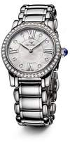 David Yurman Classic 30mm Stainless Steel Quartz with Diamond Bezel
