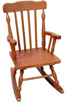 Gift Mark Kids' Colonial Rocking Chair - Honey
