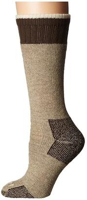 Carhartt Heavyweight Merino Wool Blend Boot Sock (Khaki) Women's Crew Cut Socks Shoes