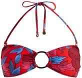 Diane von Furstenberg O-ring halterneck bikini top