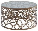 Acme Coffee Table Brass Brown Opaque