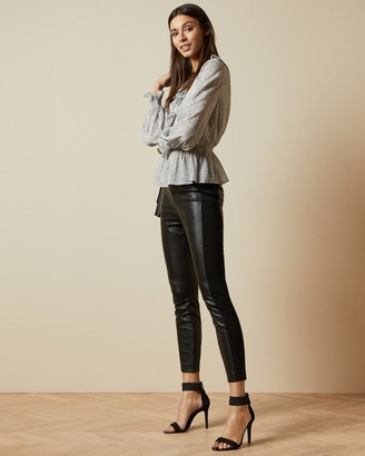 Ted Baker KLORIIS Faux leather leggings
