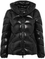Moncler Akebia Quilted Patent-shell Down Jacket