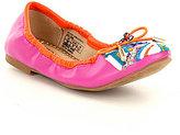 Sam Edelman Girl's Felicia Embroidered Slip-On Ballet Flats